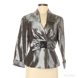 Signature by Larry Levine Dress Blouse Small